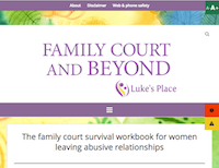 FamilyCourtAndBeyond.ca website homepage